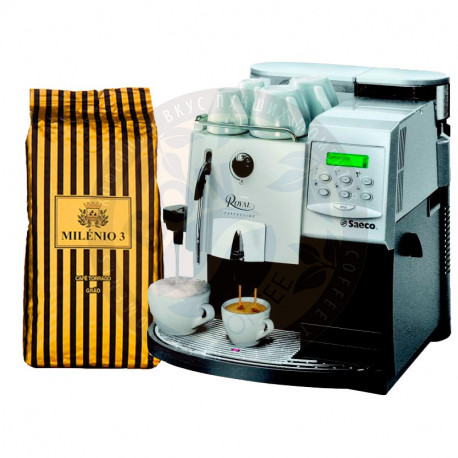 Bogani Milenio 3 и Saeco Royal Cappuccino
