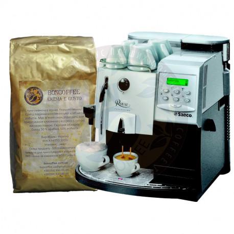 Boncoffee Crema e Gusto и Saeco Royal Cappuccino