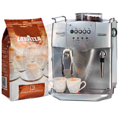 Lavazza Crema e Aroma и Saeco Incanto Classic