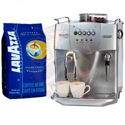 Lavazza Crema e Aroma Espresso и Saeco Incanto Classic