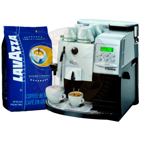 Lavazza Crema e Aroma Espresso и Saeco Royal Cappuccino